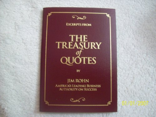 9780939490059: Excerpts from the Treasury of Quotes