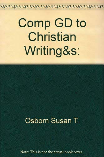 9780939497355: Complete Guide to Christian Writing and Speaking