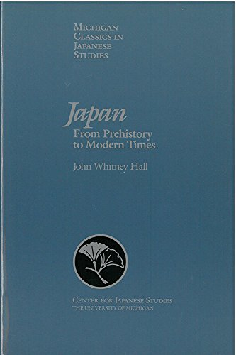 Japan: From Prehistory to Modern Times (Michigan: Hall, John