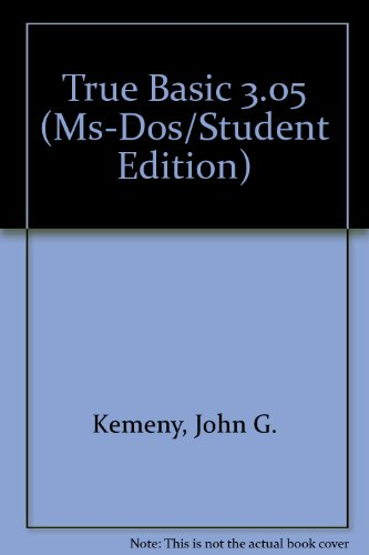 9780939553068: True Basic 3.05 (Ms-Dos/Student Edition)