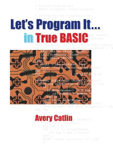 9780939553341: Let's Program It... in True BASIC