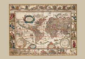 Reading the World Map: Interdisciplinary Perspectives on Pieter Van Den Keere's Map, Nova ...