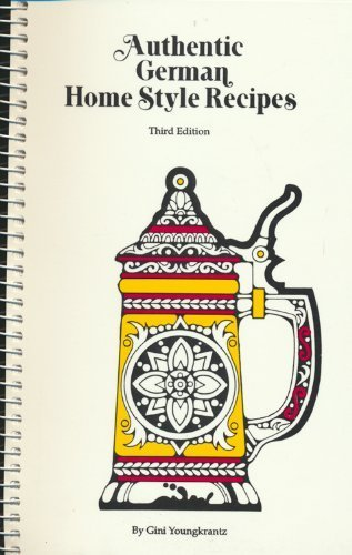9780939593026: Authentic German home style recipes