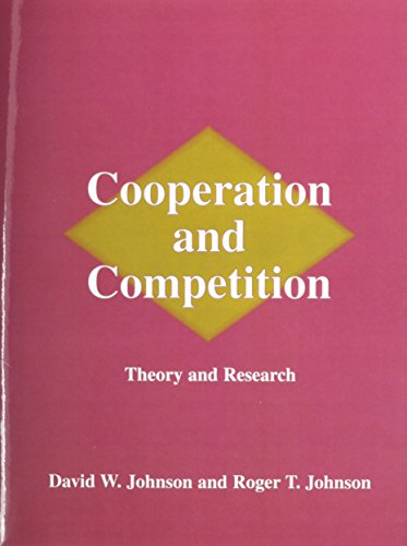 9780939603107: Cooperation and Competition: Theory and Research