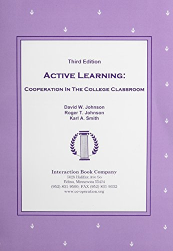 9780939603145: Active Learning: Cooperation in the College Classroom