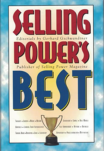 9780939613083: Selling power's best: Editorials