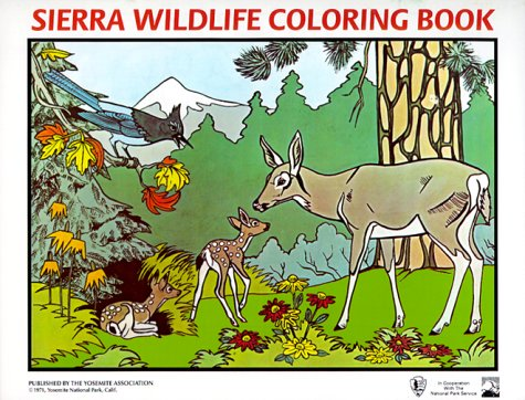 9780939666157: Sierra Wildlife Coloring Book