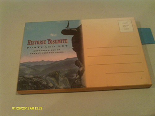 9780939666904: Historic Yosemite Postcard Set: Reproductions of Twenty-Two Vintage Views