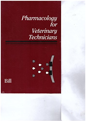 9780939674503: Pharmacology for Veterinary Technicians