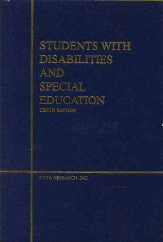 9780939675340: Students with Disabilities & Special Education [Hardcover] by Inc Staff Data ...