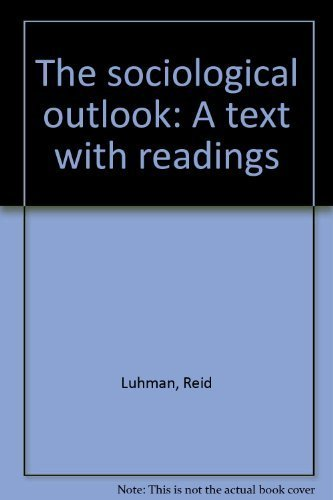 9780939693252: The sociological outlook: A text with readings