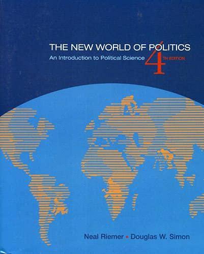 The New World of Politics: Riemer, Neal, Simon,
