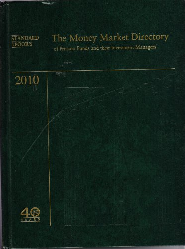 9780939712465: The Money Market Directory of Pension Funds and Their Investment Managers