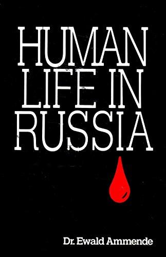 9780939738540: Human Life in Russia