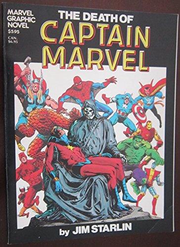 9780939766116: Marvel Graphic Novel #1 Death of Captain Marvel