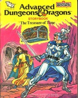 The Treasure of time (Advanced dungeons &: Kraft, David Anthony
