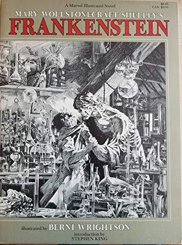 Mary Wollstonecraft Shelley's Frankenstein (A Marvel Illustrated Novel): Mary Wollstonecraft ...