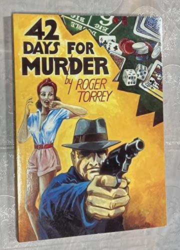 9780939767083: 42 Days for Murder
