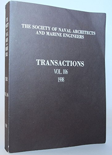 Transactions Vol. 104. 1996. Society of Naval Architects and Marine Engineers.