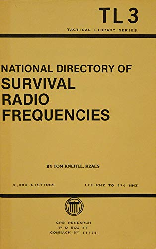 9780939780938: National directory of survival radio frequencies (Tactical library series)