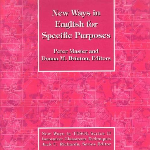 New Ways in English for Specific Purposes: Peter Antony Master