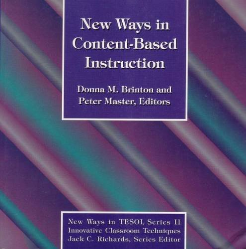 9780939791675: New Ways in Content-Based Instruction (New ways series)