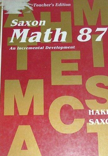 Math 87 (Saxon Math 8/7): Hake, Stephen