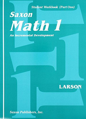 Saxon Math 1: An Incremental Development, Part: Matthews, Linda; Larson,