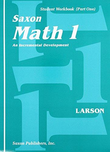 9780939798810: Saxon Math 1: An Incremental Development, Part 1 and 2