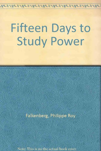9780939800018: Fifteen Days to Study Power