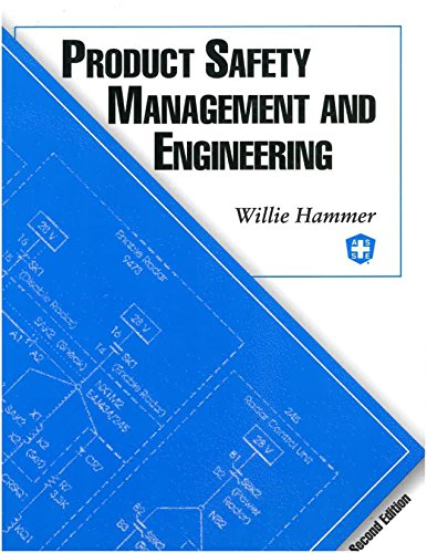 9780939874903: Product Safety Management and Engineering
