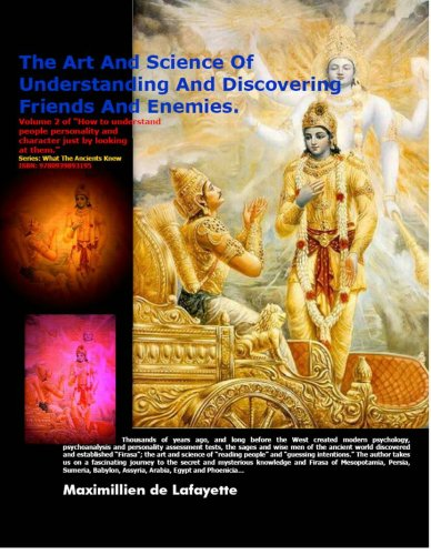 9780939893195: The Art and Science of Understanding and Discovering Friends and Enemies