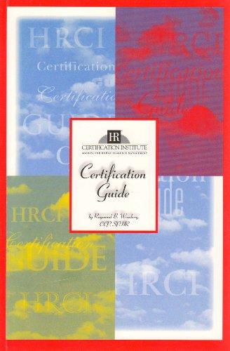 Certification Guide: Weinberg, Raymond B.
