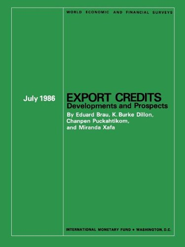 9780939934690: Export Credits: Developments and Prospects (World Economic and Financial Surveys)