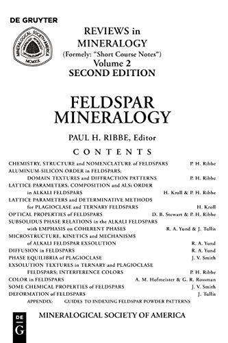 9780939950140: Feldspar Mineralogy (Reviews in Mineralogy : Vol 2) (Reviews in Mineralogy & Geochemistry)