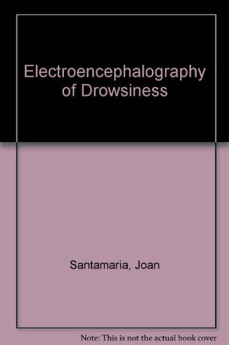 9780939957095: The Eeg of Drowsiness