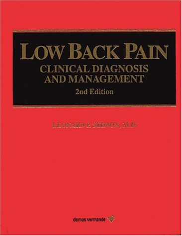 9780939957408: Low Back Pain: Clinical Diagnosis and Management