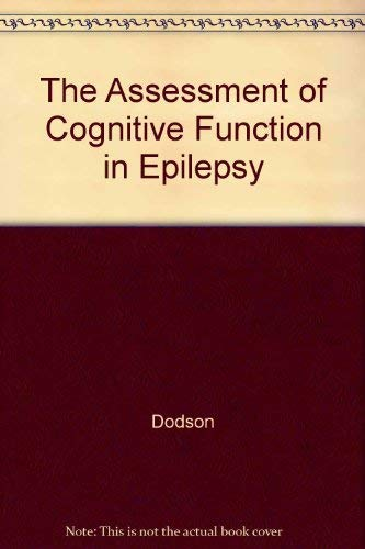 9780939957453: The Assessment of Cognitive Function in Epilepsy