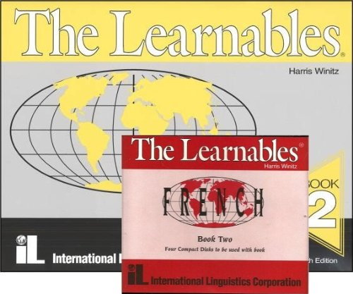 9780939990221: The Learnables Book 2 FRENCH and 4 audio CDs (The Learnables Book 2 and 4 audio CDs for FRENCH)