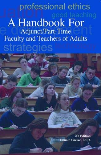 9780940017368: A Handbook for Adjunct/Part-Time Faculty and Teachers of Adults, Seventh Edition