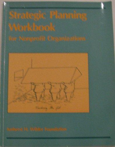 9780940069008: Strategic Planning Workbook for Nonprofit Organizations