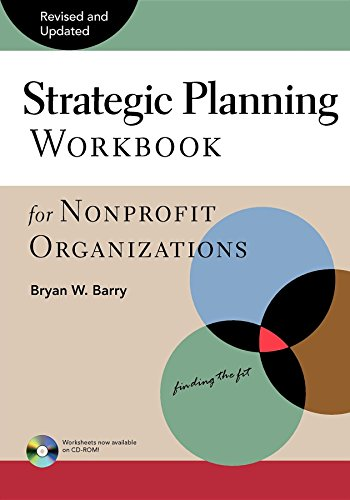 9780940069077: Strategic Planning Workbook for Nonprofit Organizations, Revised and Updated
