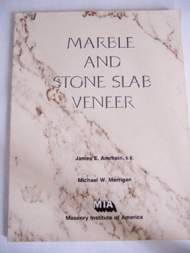 9780940116153: Marble and Stone Slab Veneer