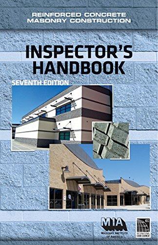 9780940116511: Reinforced Concrete Masonry Construction Inspector's Handbook, 7th edition