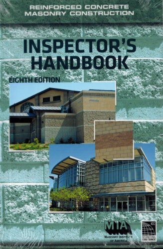9780940116566: Reinforced Concrete Masonry Construction Inspector's Handbook, 8th Edition