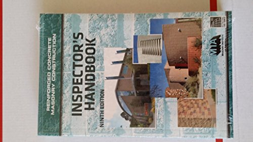 9780940116658: Reinforced Concrete Masonry Construction Inspector's Handbook, 9th Edition
