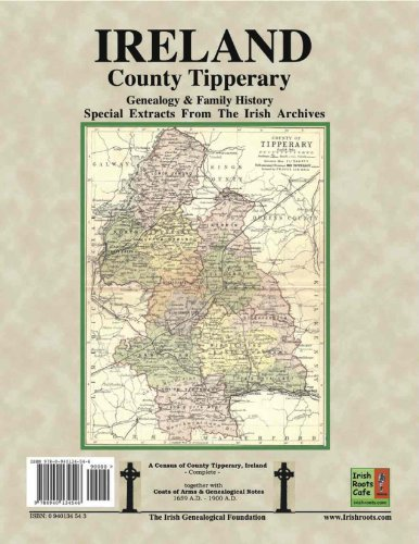 9780940134546: County Tipperary Genealogy and Family History, special extracts from the IGF archives