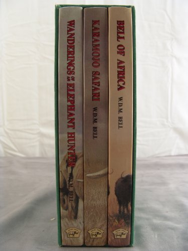 9780940143296: Bell Trilogy in Slipcase: Bell of Africa : Karamojo Safari : Wanderings of an Elephant Hunter