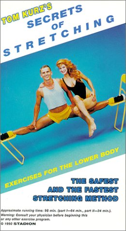 9780940149274: Secrets of Stretching : Exercises for Lower Body [VHS]