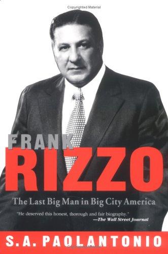 Frank Rizzo: Paolantonio, S. A.